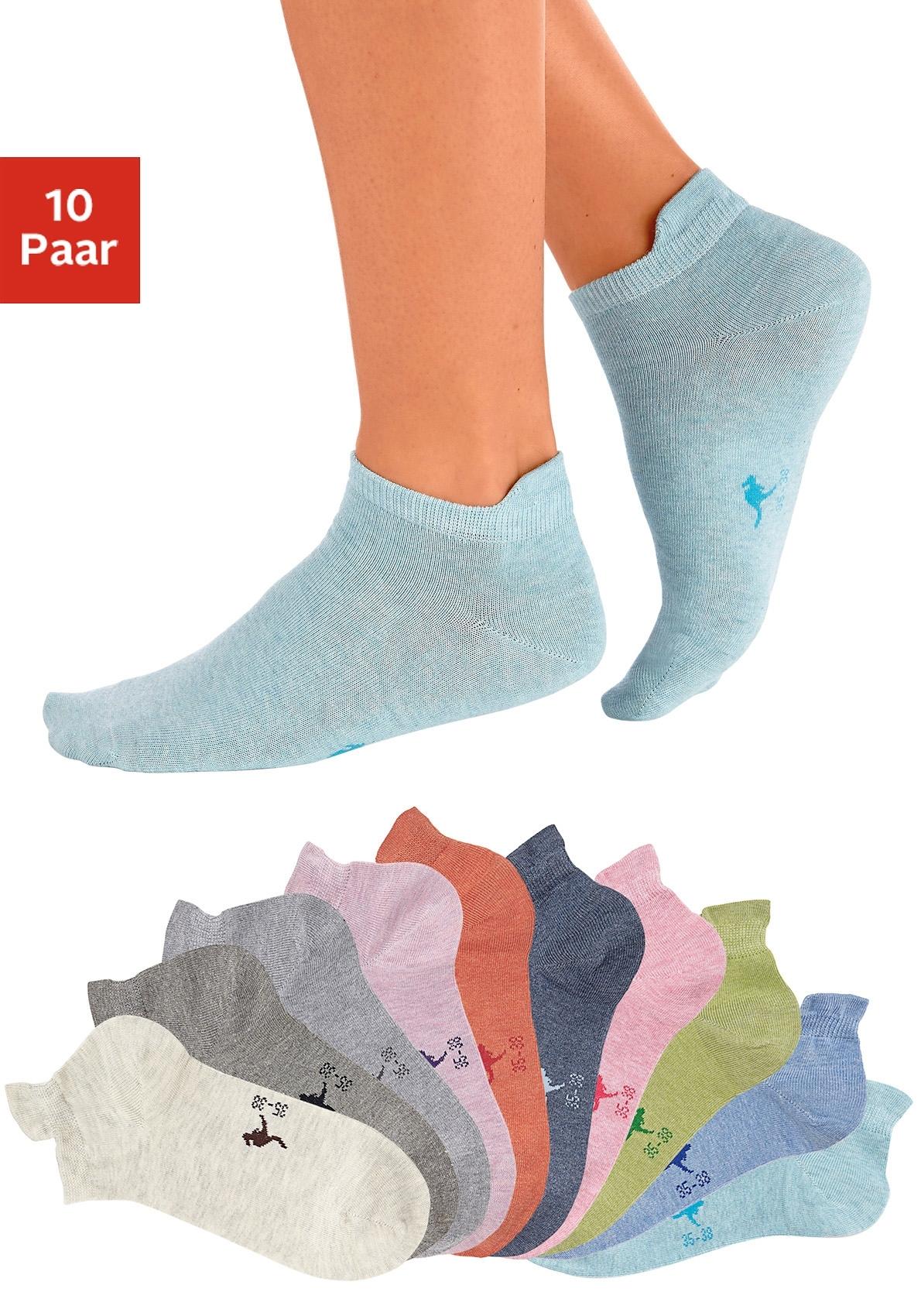 KangaROOS sneakersokken met verhoogde hiel (10 paar) online kopen op lascana.nl