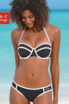balconette-bikini, bench (2-delig) zwart