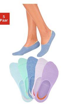 Open kousenvoetjes (5 paar), ideaal voor lage schoenen, leuke kleurkeuze