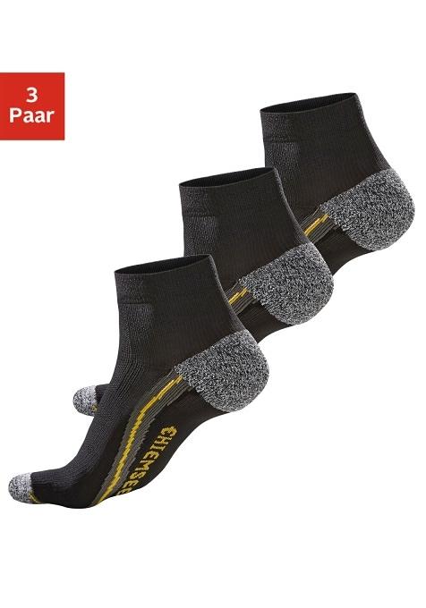 CHIEMSEE Korte hiking-sokken in set van 3 paar in de webshop van Lascana kopen