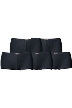 pants, set van 5, h.i.s zwart