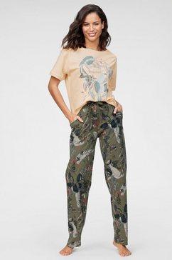 triumph pyjama groen