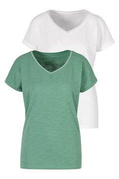 h.i.s t-shirt blauw