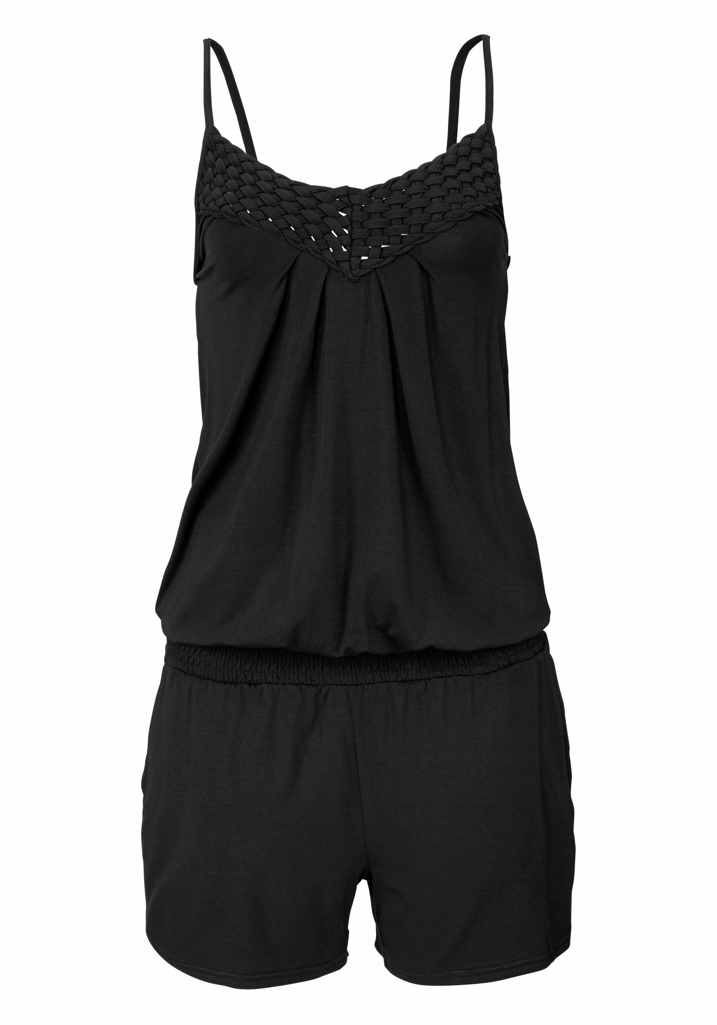 Lascana jumpsuit gedessineerd of uni in de webshop van Lascana kopen