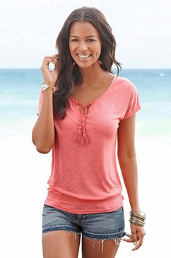 beachtime t-shirt (set van 2) oranje