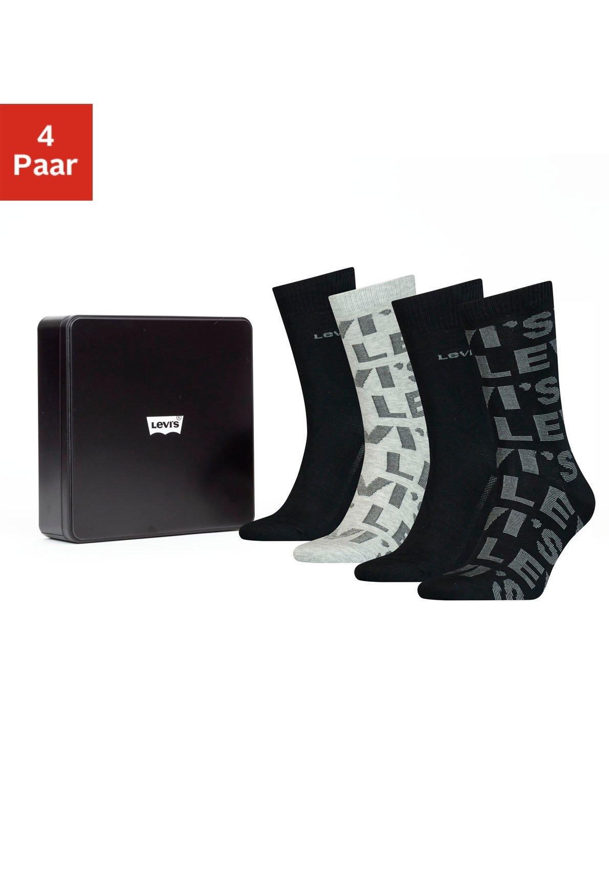 Op zoek naar een Levi's Business-sokken perfect als cadeau in een box (box, 4 paar)? Koop online bij Lascana