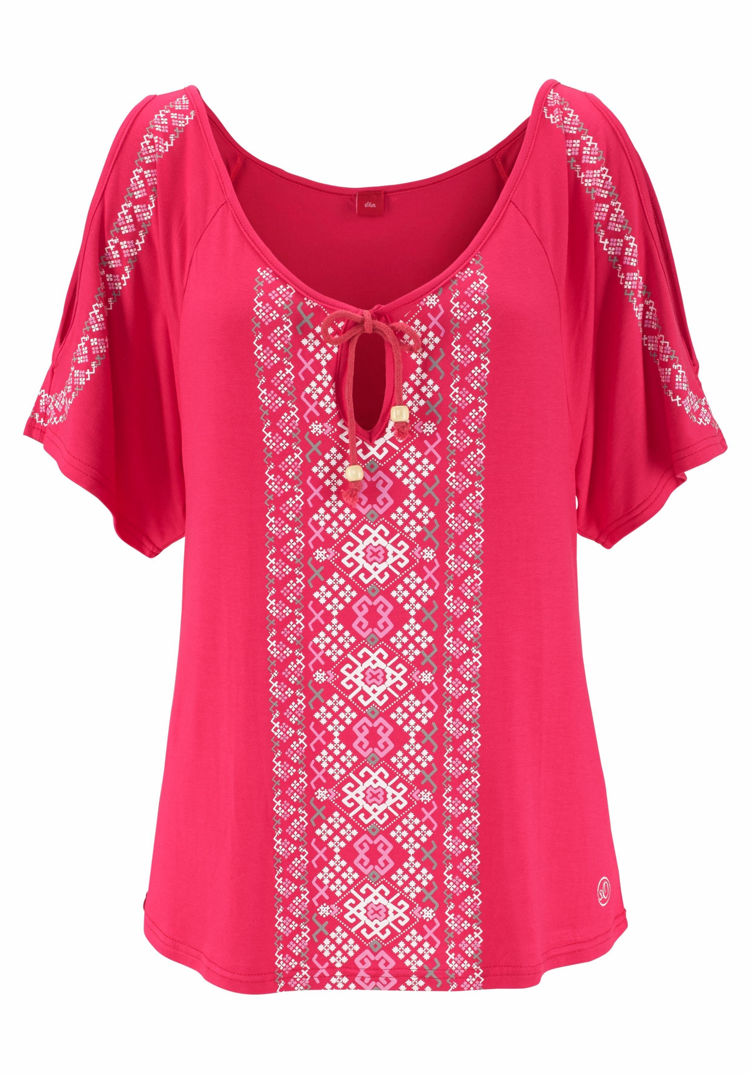 s.Oliver RED LABEL Beachwear strandshirt - verschillende betaalmethodes