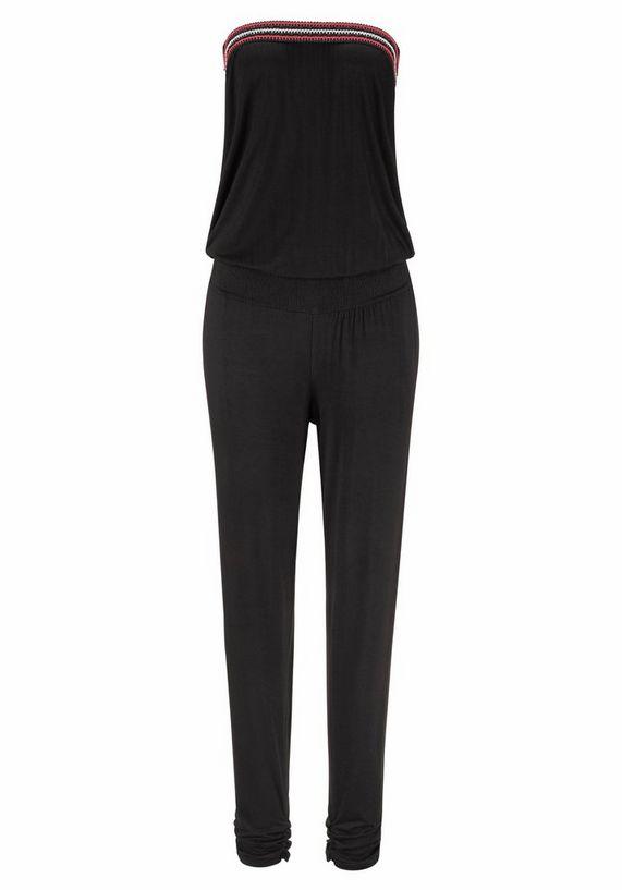s oliver red label beachwear jumpsuit met gehaakt detail online kopen bij lascana. Black Bedroom Furniture Sets. Home Design Ideas