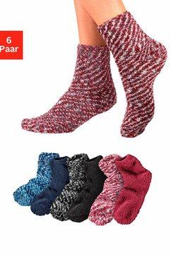 lavana wellness-sokken (set van 6 paar) multicolor