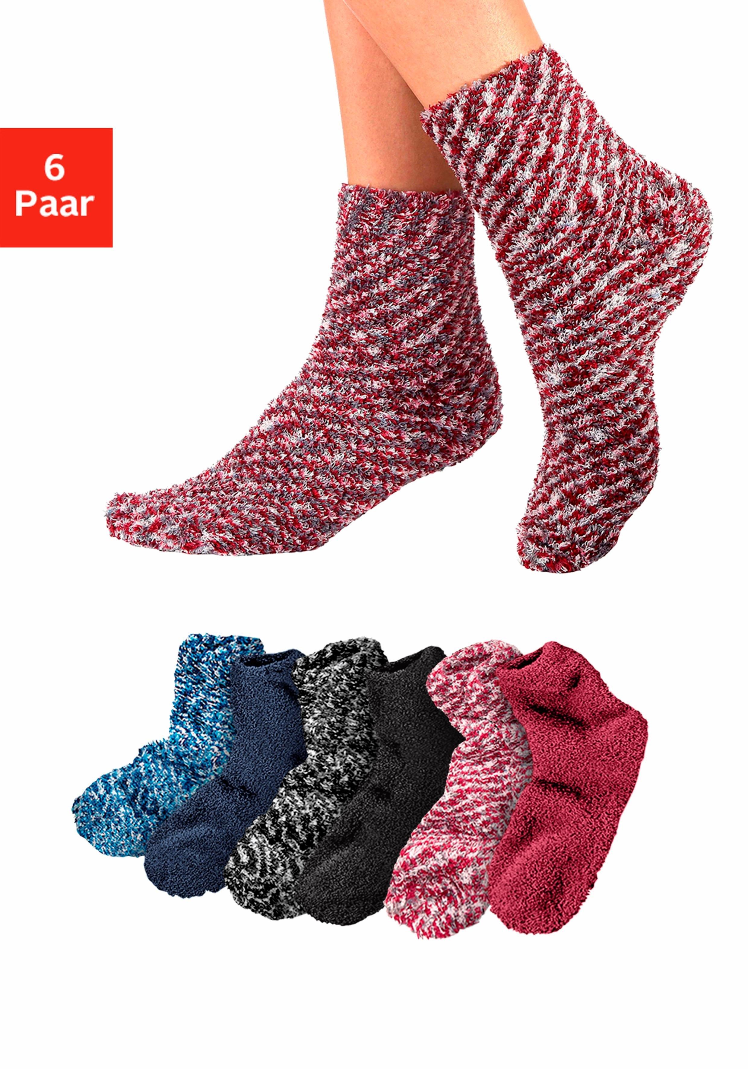 Lavana wellness-sokken (set van 6 paar) nu online kopen bij Lascana