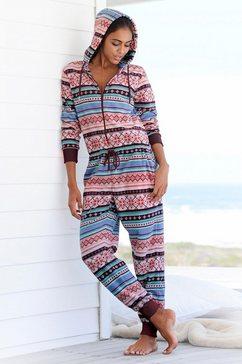 relax-jumpsuit, bench oranje