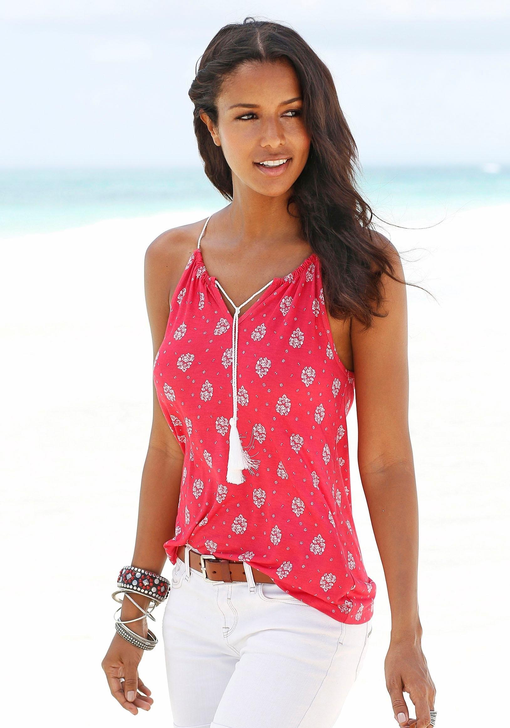 s.Oliver Beachwear S.OLIVER RED LABEL Beachwear strandtop nu online kopen bij Lascana
