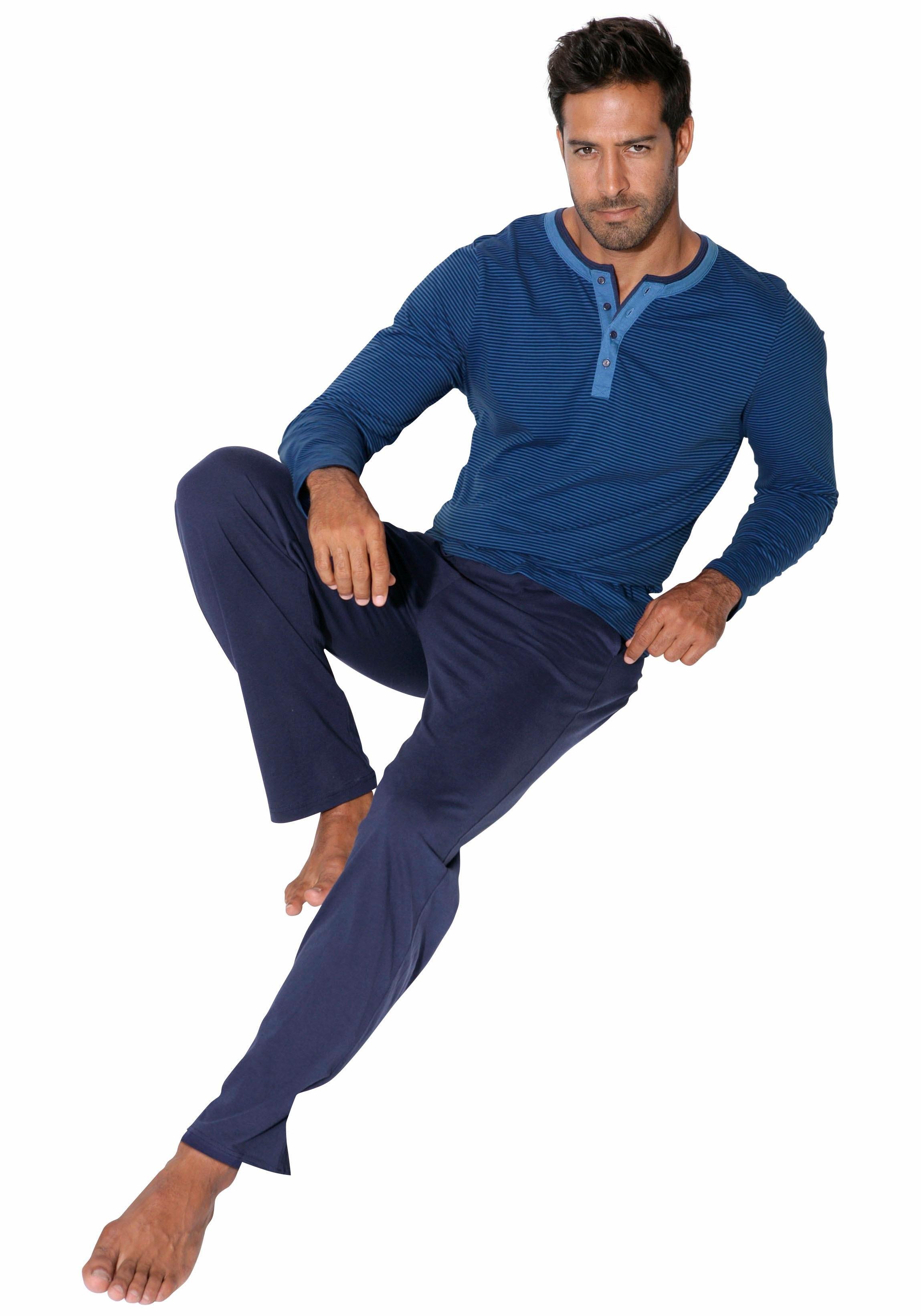 ARIZONA pyjama, lang in de webshop van Lascana kopen