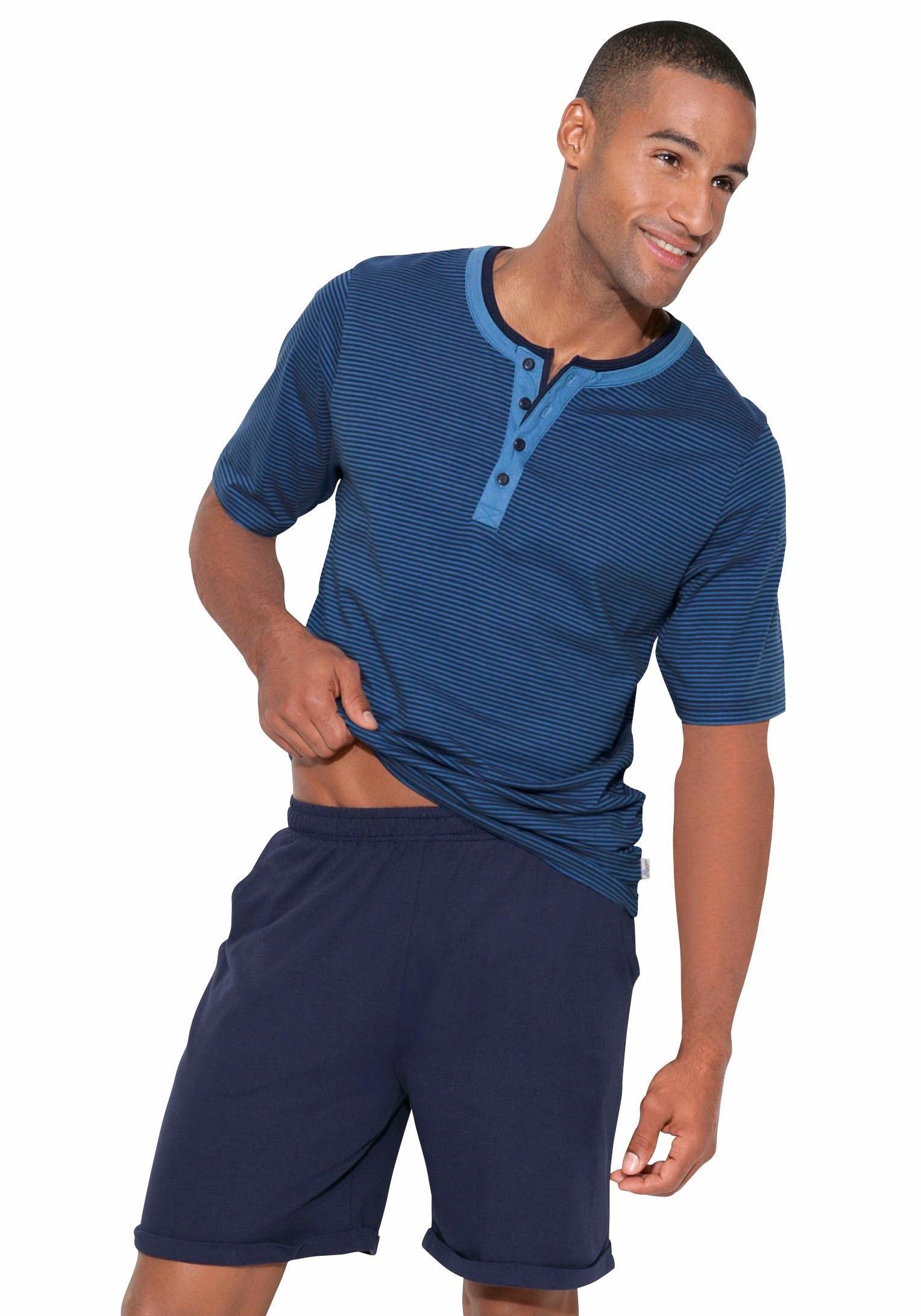 Arizona pyjama in kort model in de webshop van Lascana kopen