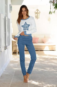 pyjama met sterrenprint