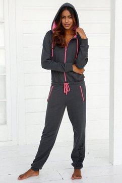 relax-jumpsuit, bench grijs