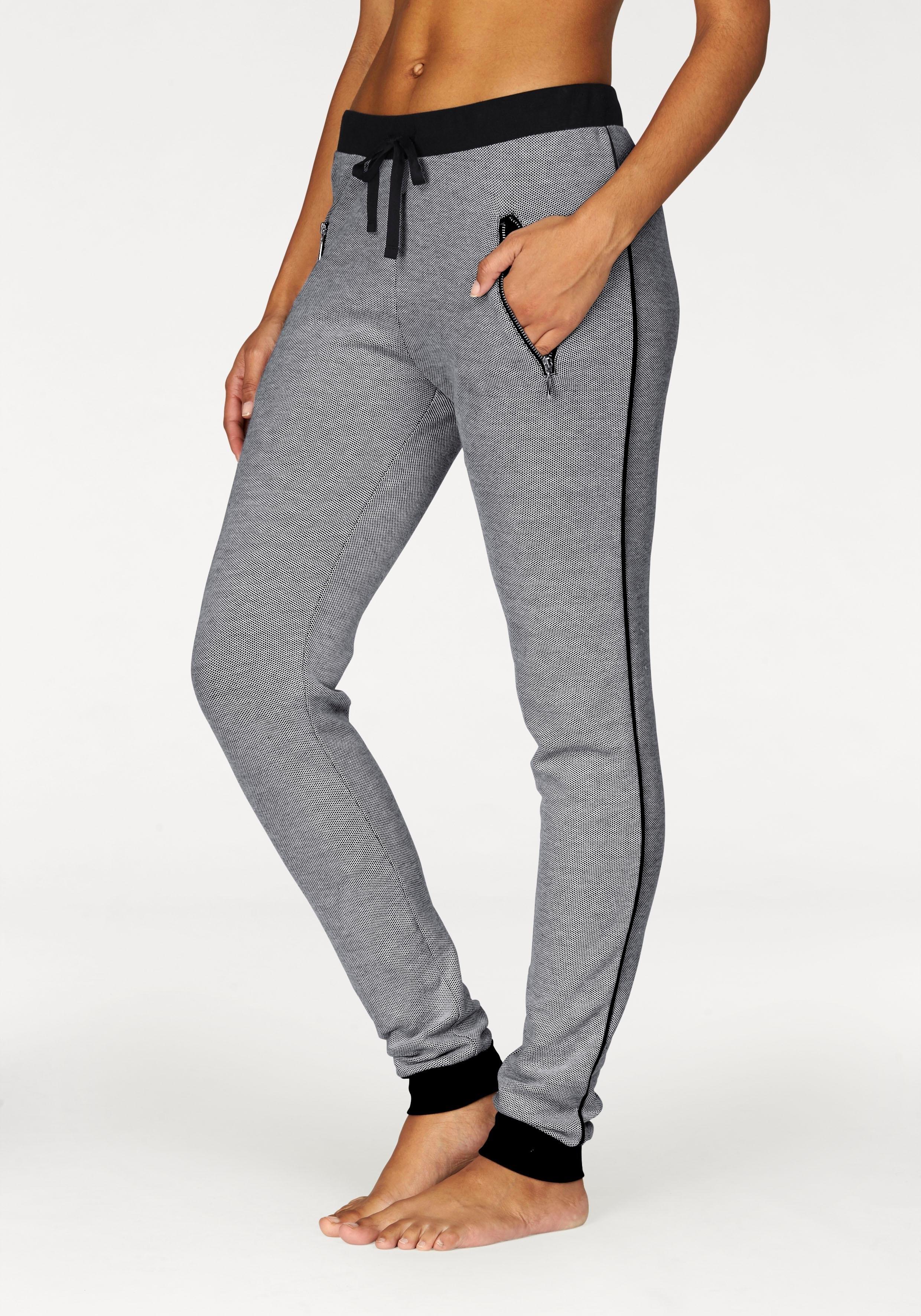 Bench. chique workout-broek van jacquardstof nu online kopen bij Lascana