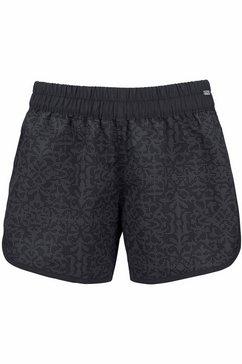 venice beach zwemshort met stijlvolle print zwart
