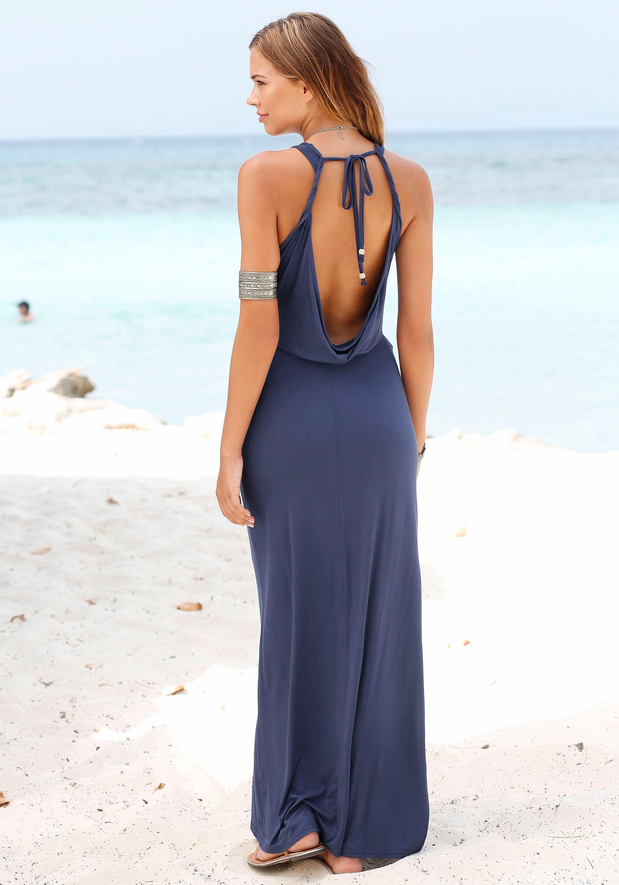 s.Oliver Beachwear s.Oliver RED LABEL beachwear maxi-jurk veilig op lascana.nl kopen