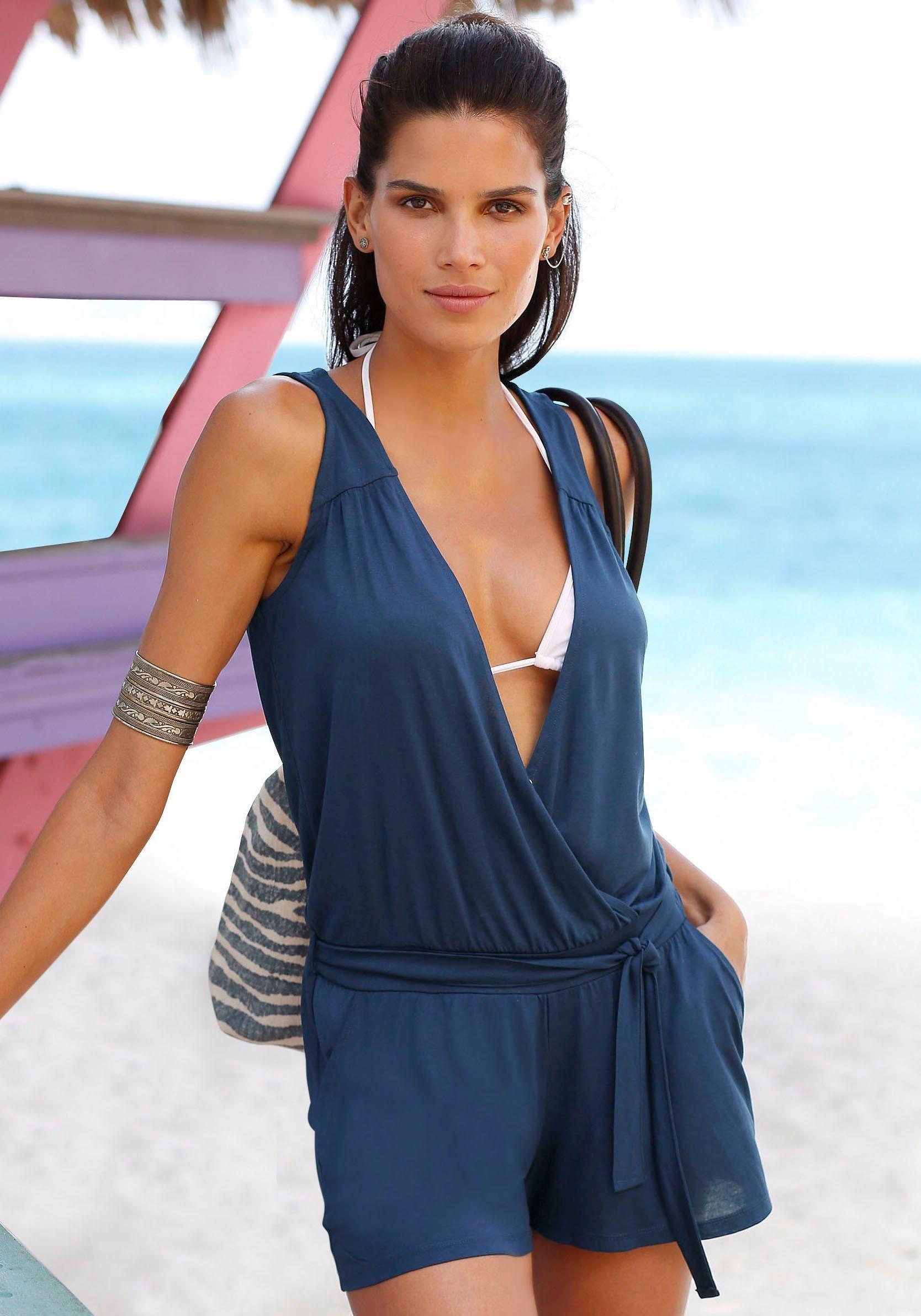 s.Oliver RED LABEL beachwear strand-jumpsuit bestellen: 14 dagen bedenktijd