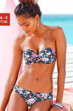 beachwear beugelbikini in bandeaumodel (2-delig)