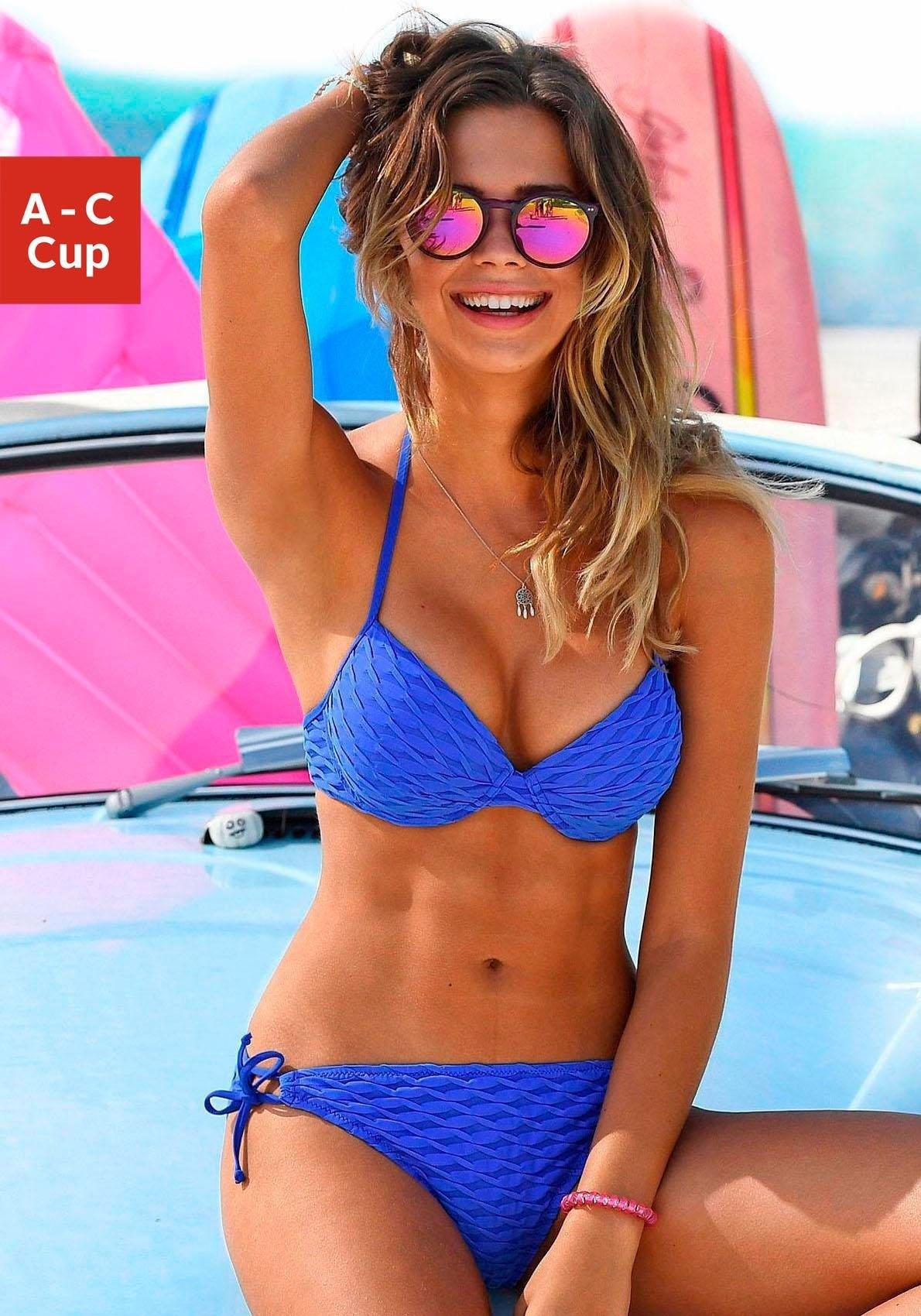s.Oliver RED LABEL Push-up-bikini, s.Oliver (2-delig) online kopen op lascana.nl