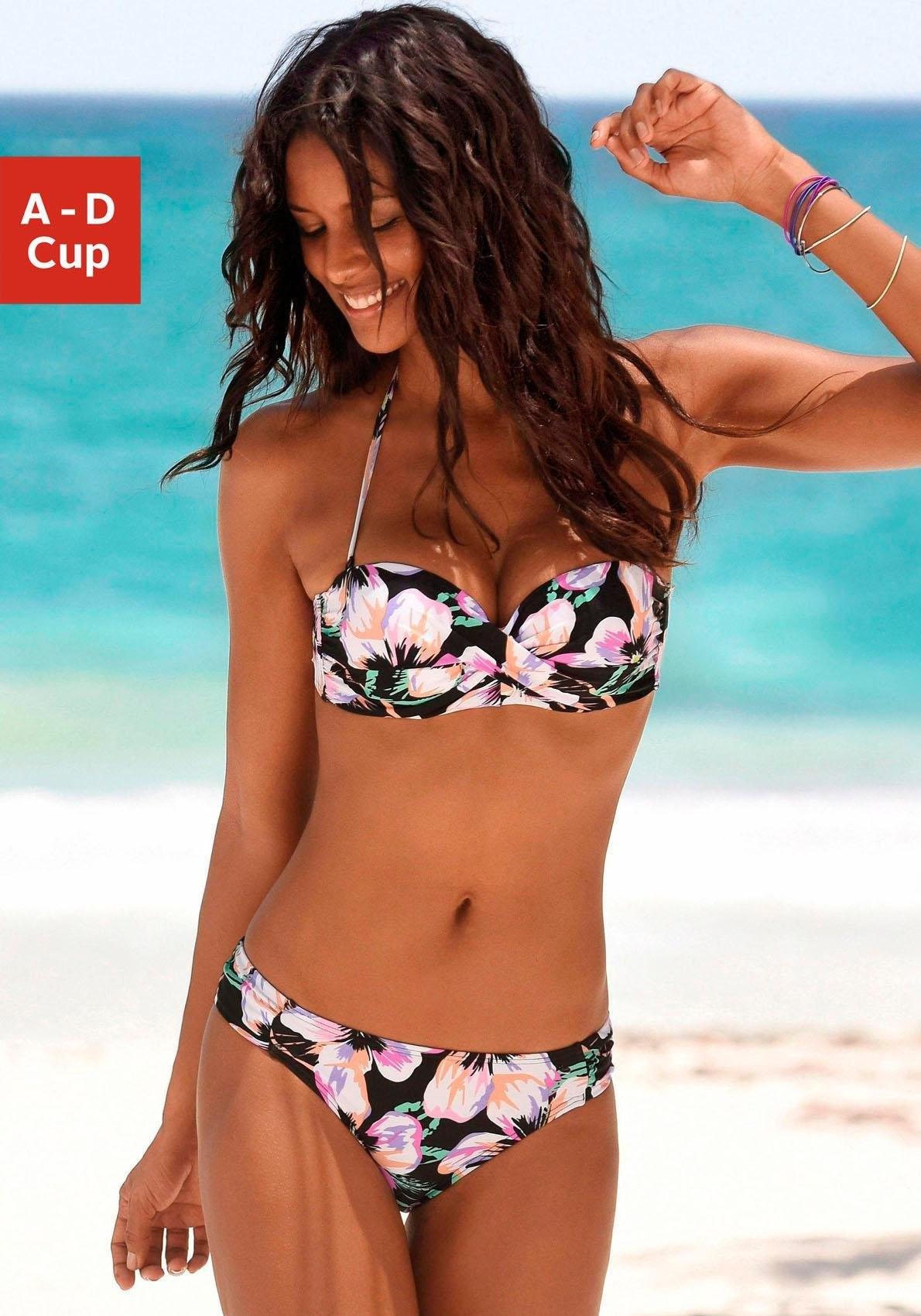 s.Oliver RED LABEL beachwear beugelbikini in bandeaumodel (2-delig) - verschillende betaalmethodes