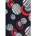 lascana beugeltankini in rondjes-design zwart