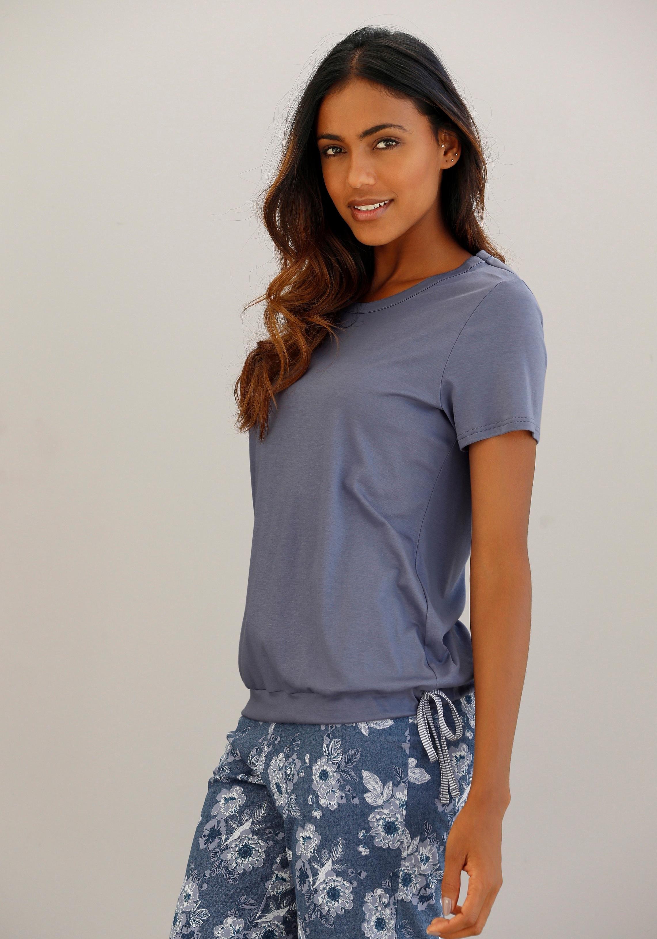 Op zoek naar een Calida nachthemd met bindstrik bij de zoom? Koop online bij Lascana