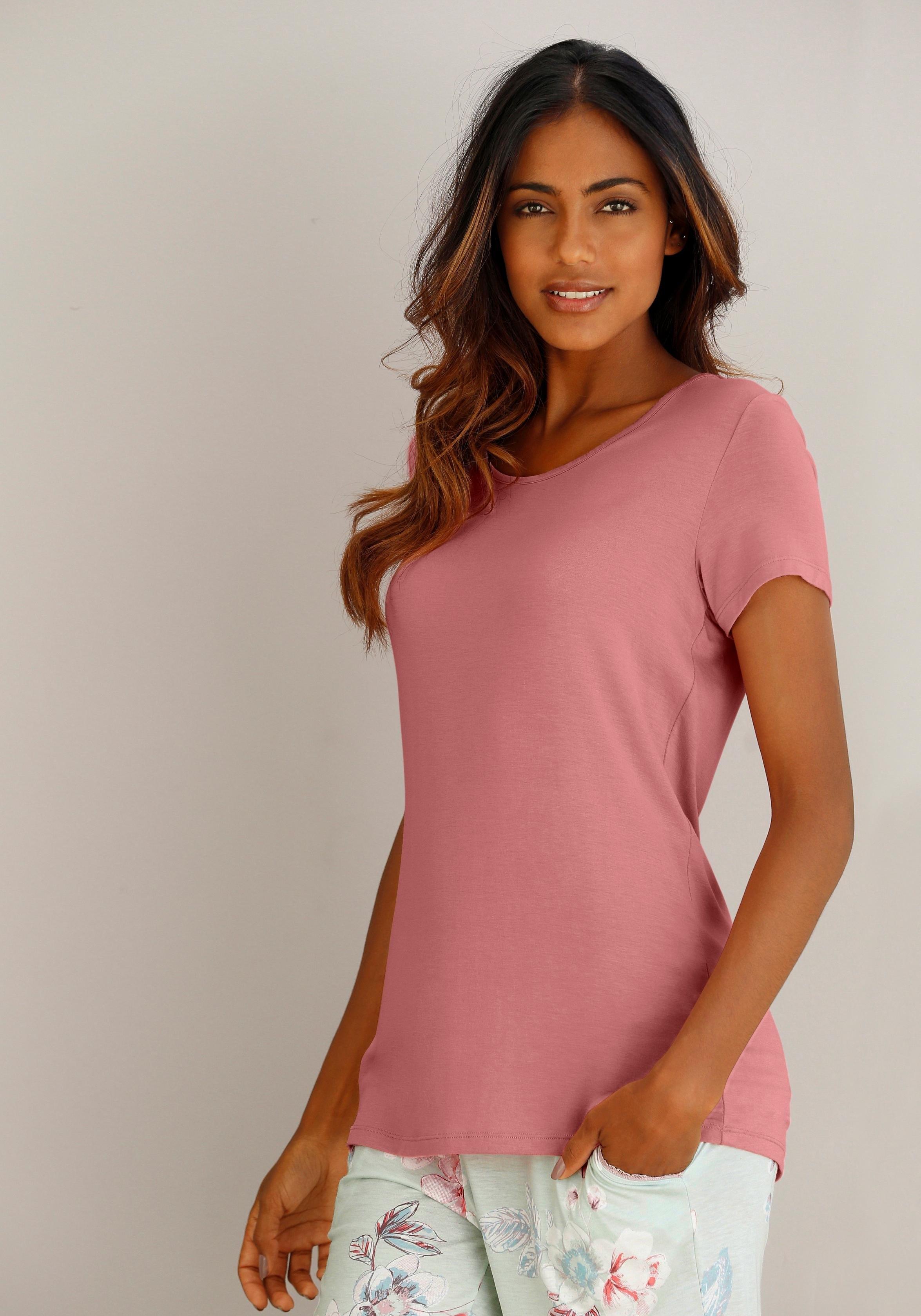 Calida nachthemd met ronde hals veilig op lascana.nl kopen