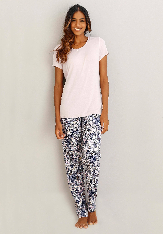 Calida pyjamabroek met paisleymotief voordelig en veilig online kopen