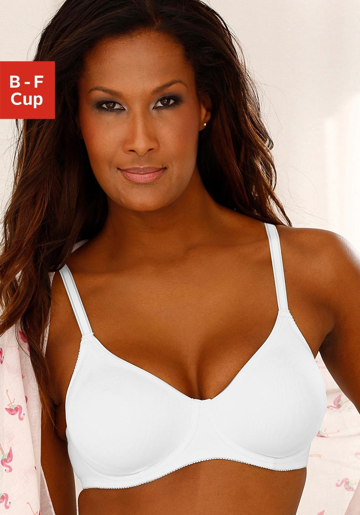Nuance beugel-bh met ongevoerde dubbellaagse cups nu online kopen bij Lascana