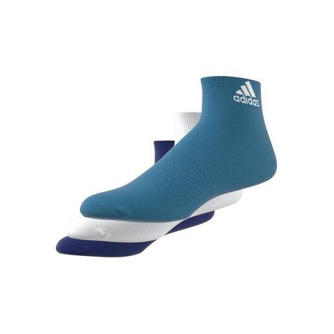 adidas Performance korte sokken uniseks (3 paar)