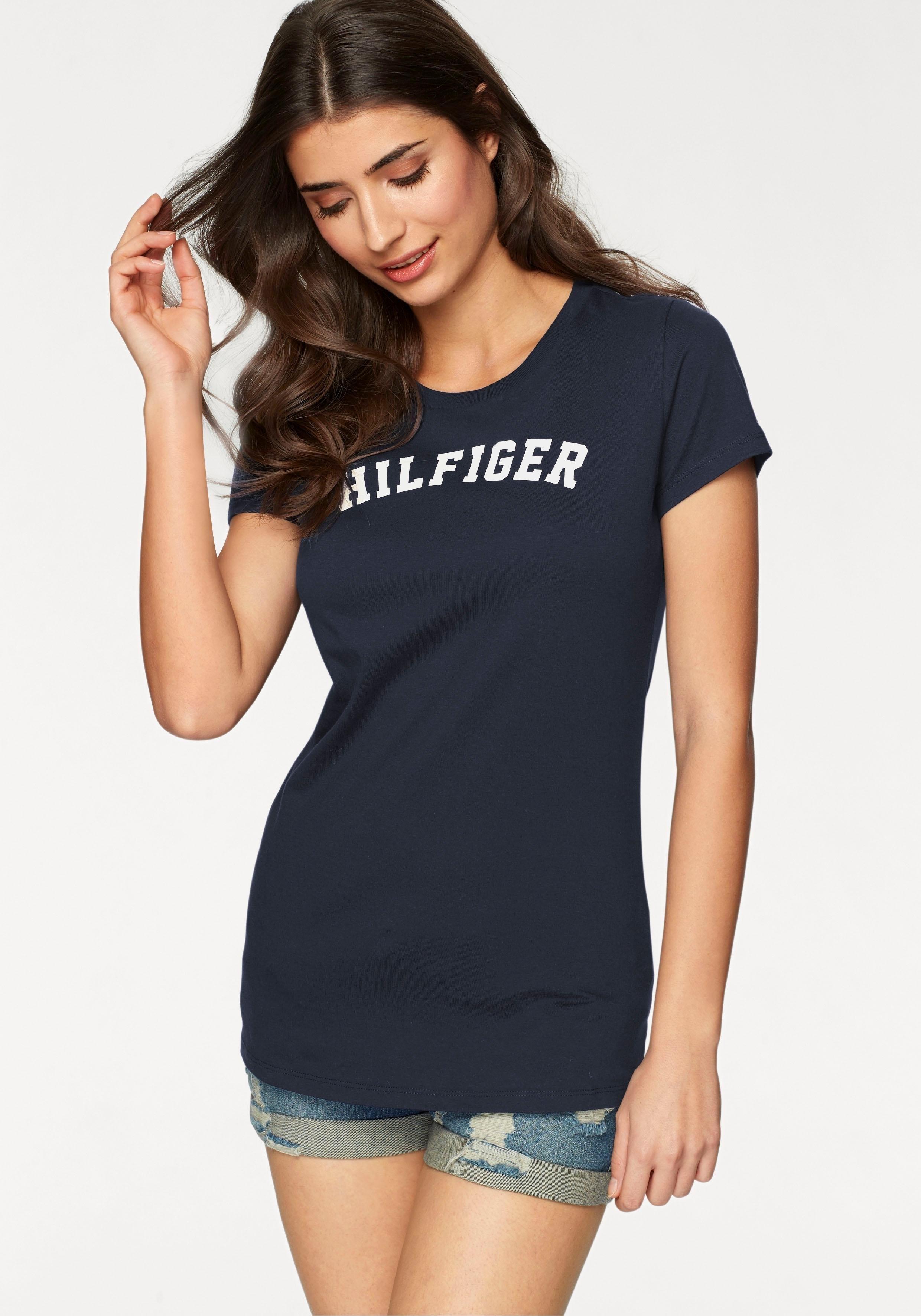 Tommy Hilfiger T-shirt met logoprint - gratis ruilen op lascana.nl