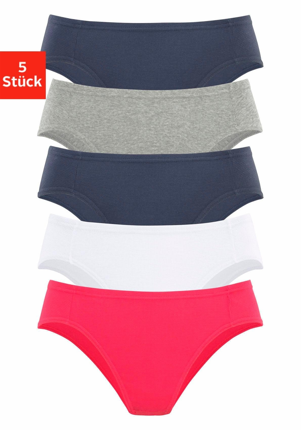 Petite Fleur Bikinislip, set van 5 bij Lascana online kopen