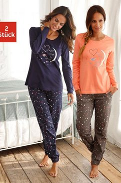 pyjama in set van 2, vivance dreams rood