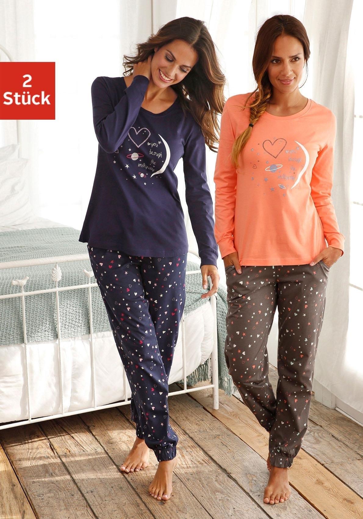 Vivance Collection Pyjama in set van 2, VIVANCE DREAMS veilig op lascana.nl kopen