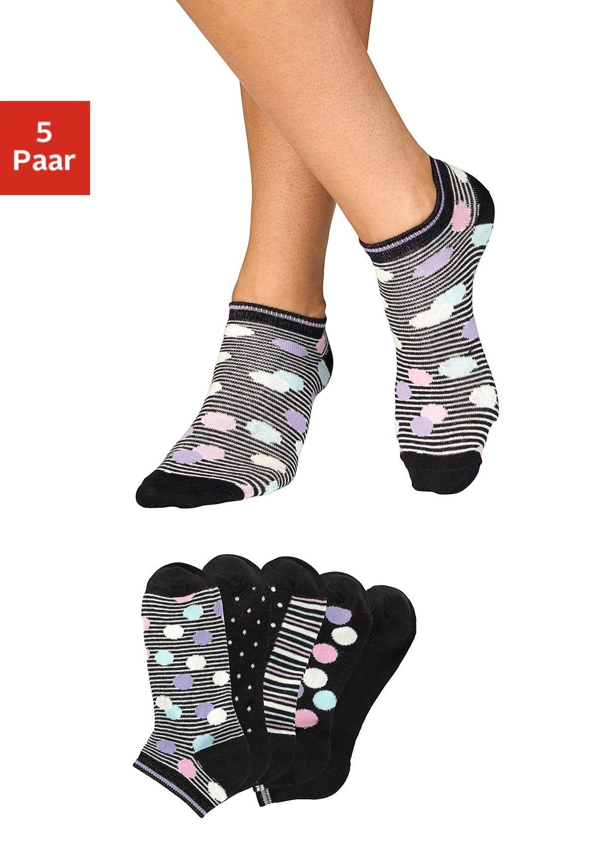 Bench. sneakersokken (set van 5) online kopen op lascana.nl