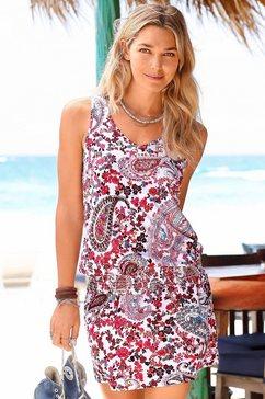 Shirt-jurk met paisleyprint