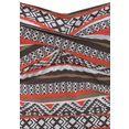 lascana badpak wintu in trendy design en met een modellerend effect bruin