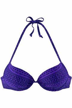 Push-up-bikini bovenstukje Spring met etnoprint