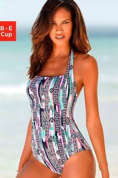 s.oliver beachwear badpak wit