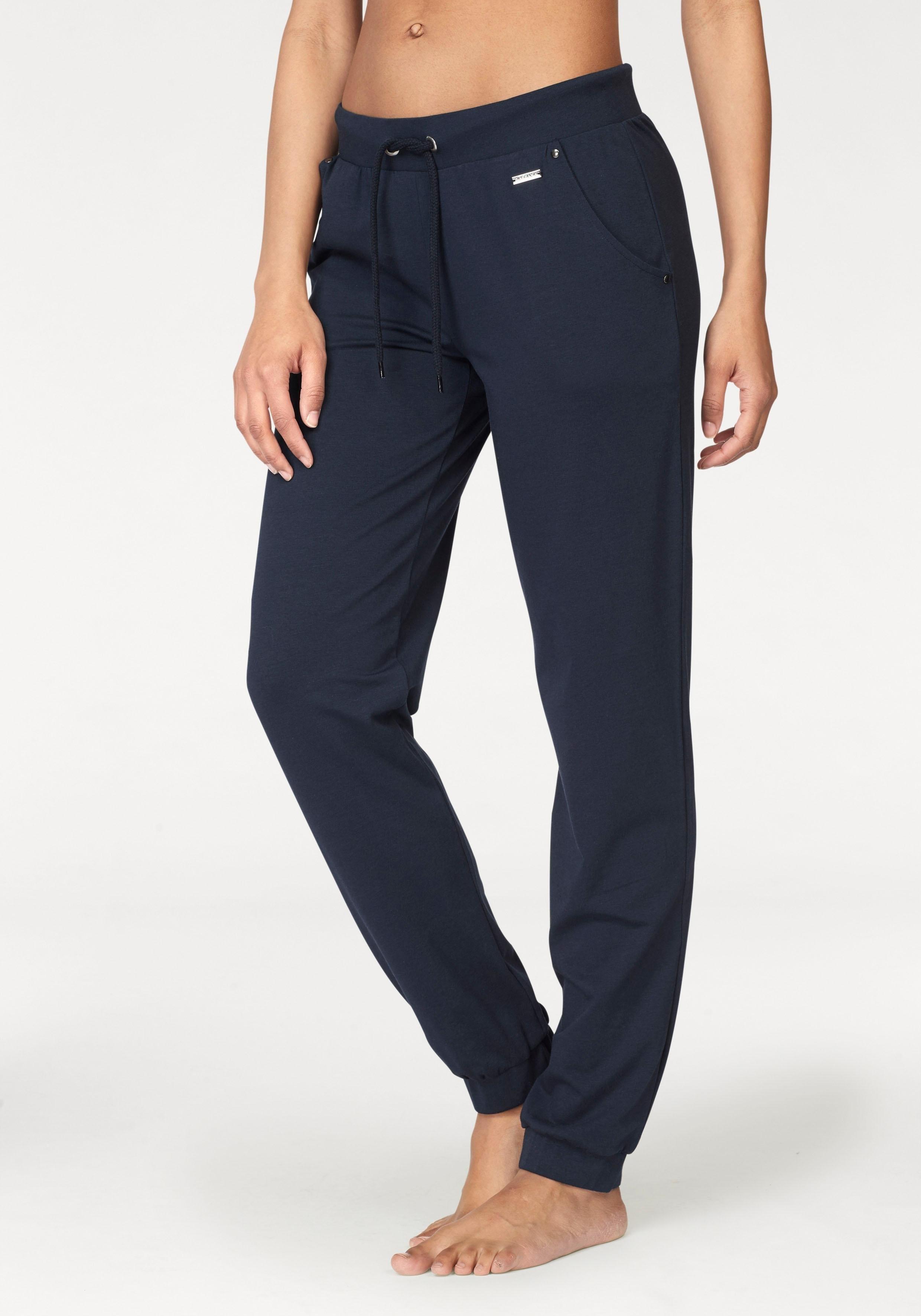 LASCANA Pantalon détente LASCANA avec poches en biais sur les côtés goedkoop op lascana.nl kopen