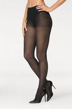 glamory steunpanty, extra wijd broekje en bij bovenbeen zwart