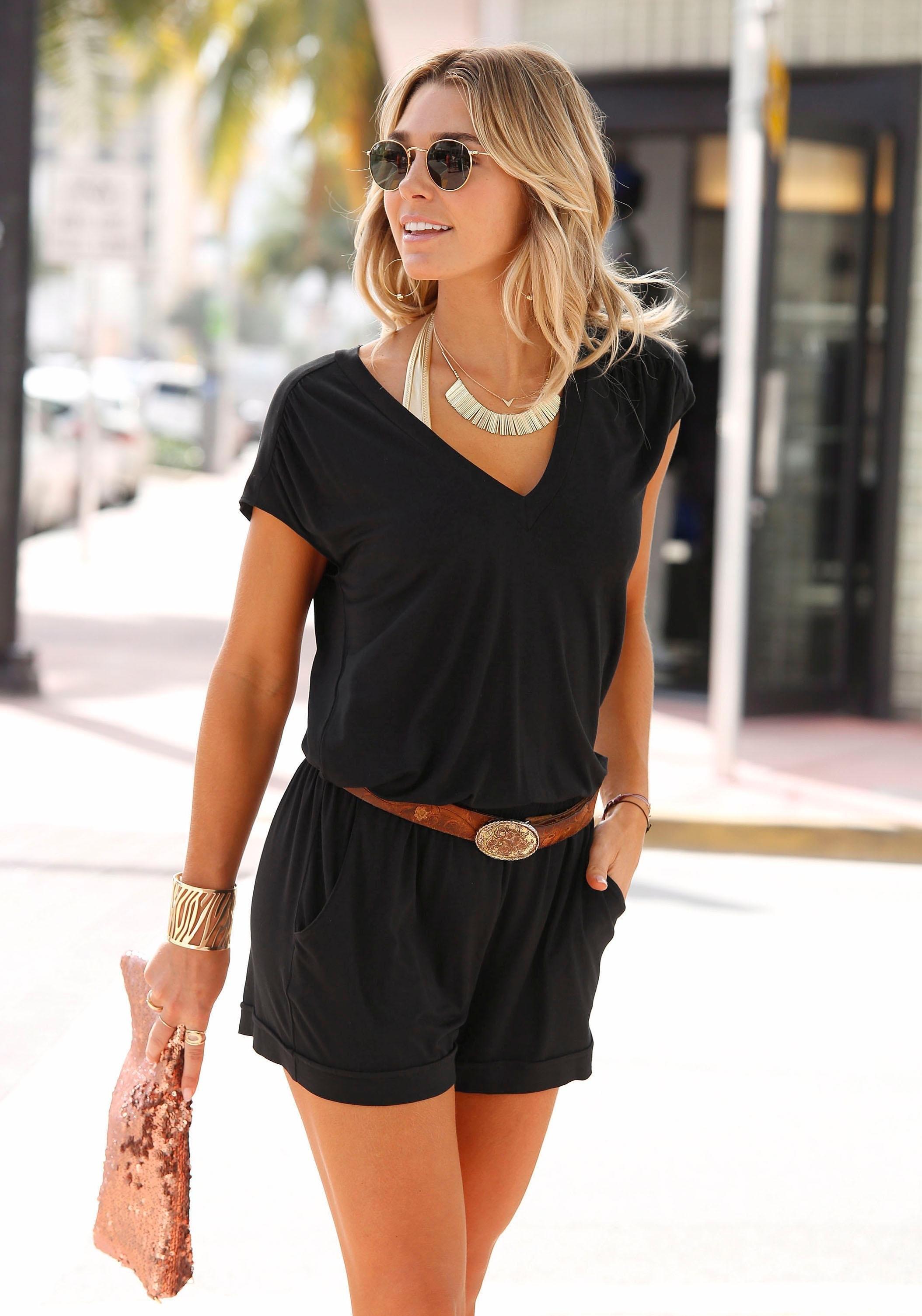 Geliefde Zwarte Jumpsuits kopen? Gratis ruilen | LASCANA #NC23