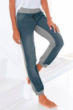 buffalo jeans-sweatwearpants blauw