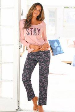 s.oliver red label bodywear pyjama in l-maten roze
