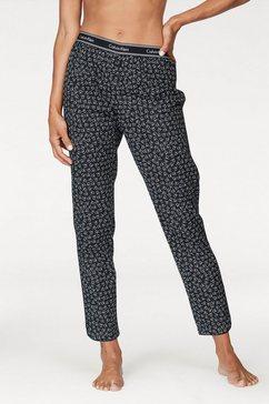 pyjamabroek met allover-logoprint