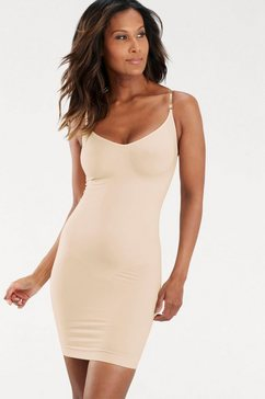 bodyforming-jurk/onderjurk met transparante bandjes
