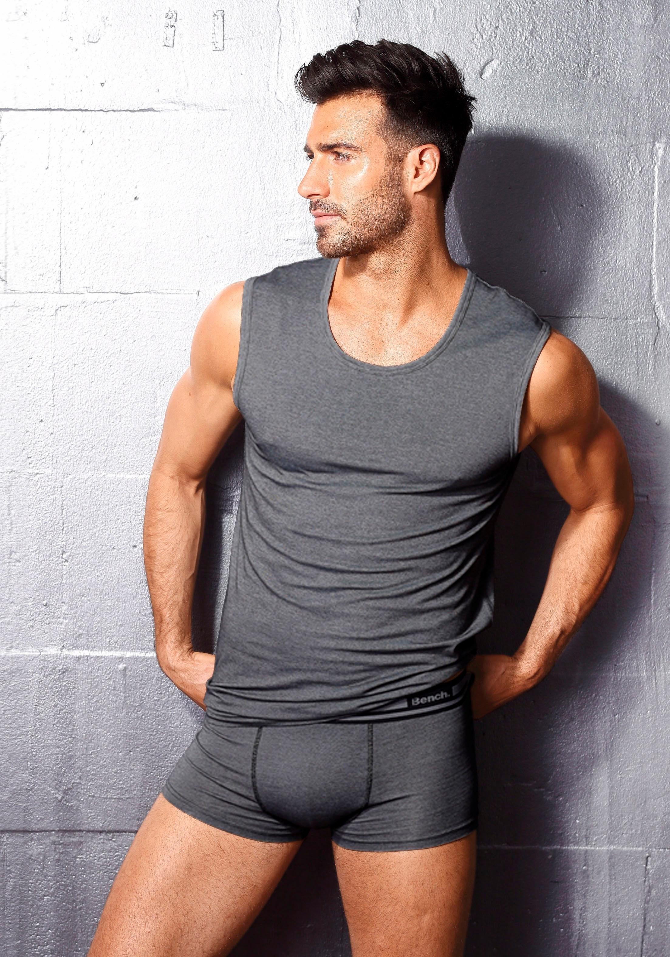 Bench. muscle-shirt van ventilerend COOLMAX®-materiaal - verschillende betaalmethodes